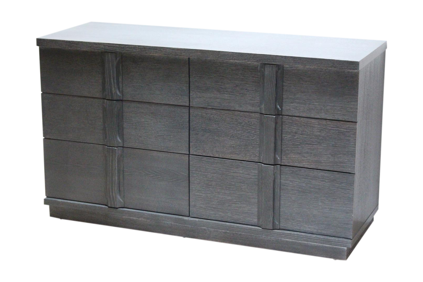 Ae Design Paul Frankl Grey Oak Cerused Dresser